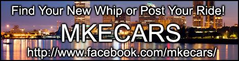 Like MKECARS and find your next new car or post your slightly used automobile!