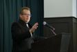 Michael Zippidy Duda Gives Speech to Presidents Club