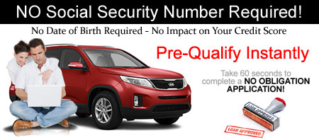 Pre-Quality for Car Loan On-Line in 60 Seconds