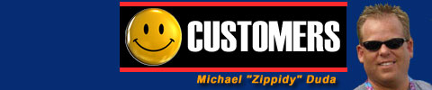 Michael Zippidy Duda = Happy Customers
