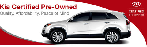 Kia Certified Pre-Owned Used Automobiles