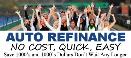 NO COST Auto Loan Refinancing On-Line in 60 Seconds