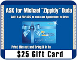 $25 Gift Card for Any Test Drive